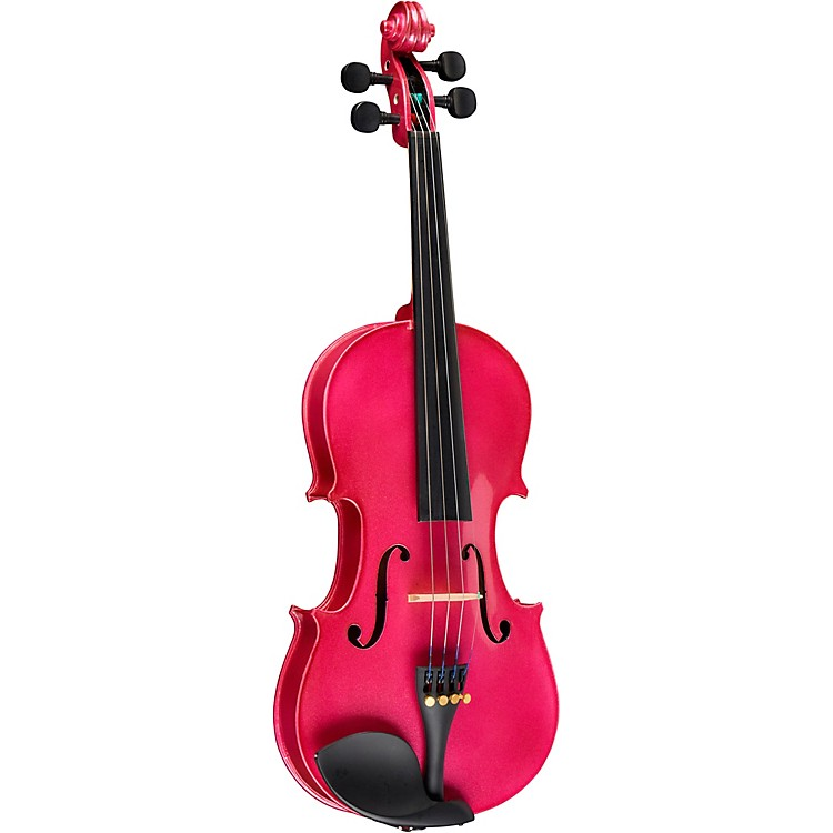 Bellafina Rainbow Series Rose Violin Outfit 1/8 Size
