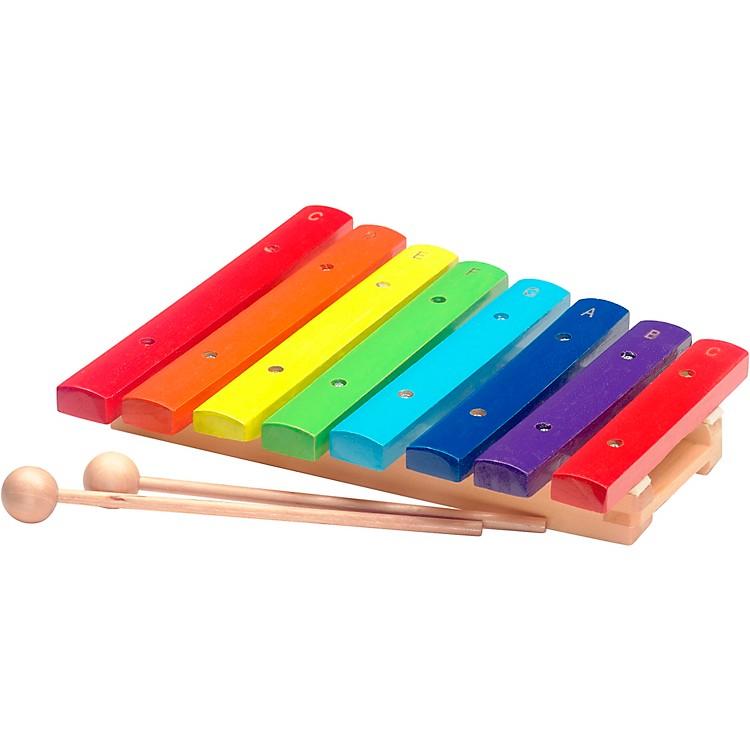 StaggRainbow Xylophone, 8 Keys, C-C