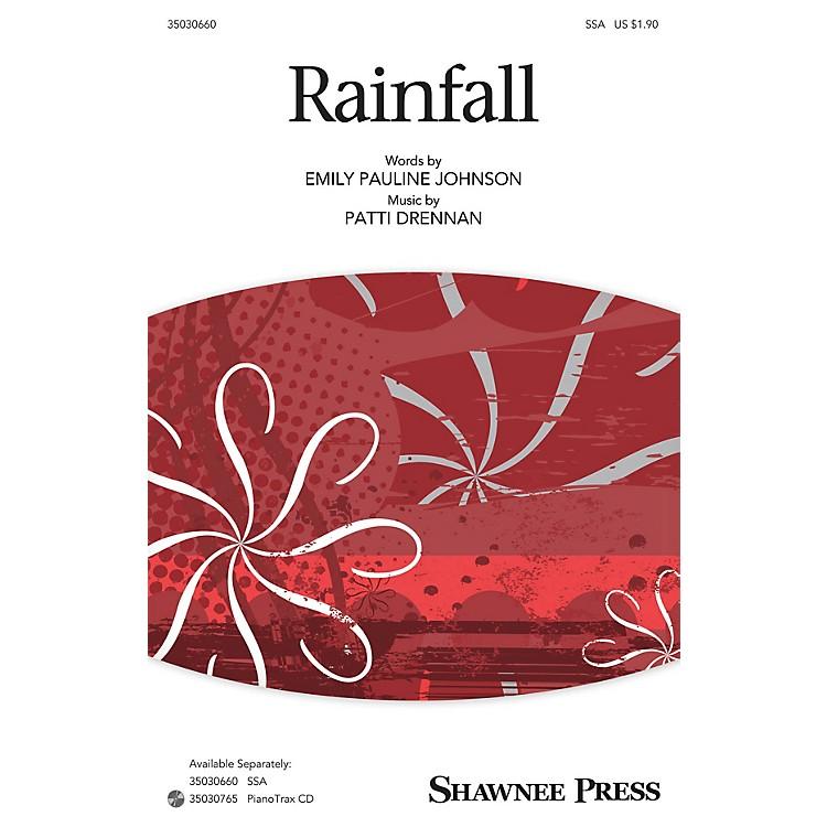 Shawnee PressRainfall SSA composed by Patti Drennan