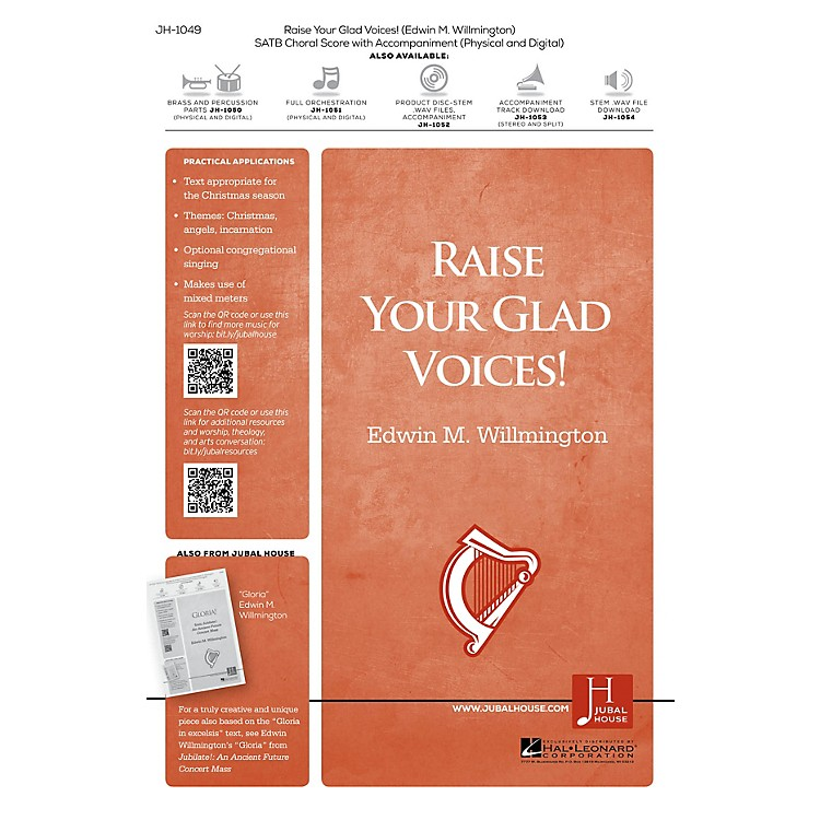 Jubal House PublicationsRaise Your Glad Voices! BRASS/PERCUSSION PARTS Composed by Edwin M. Willmington