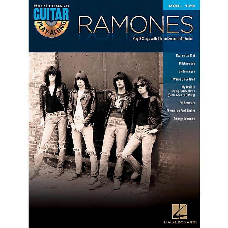 Hal Leonard Ramones - Guitar Play-Along Vol. 179 Book/CD
