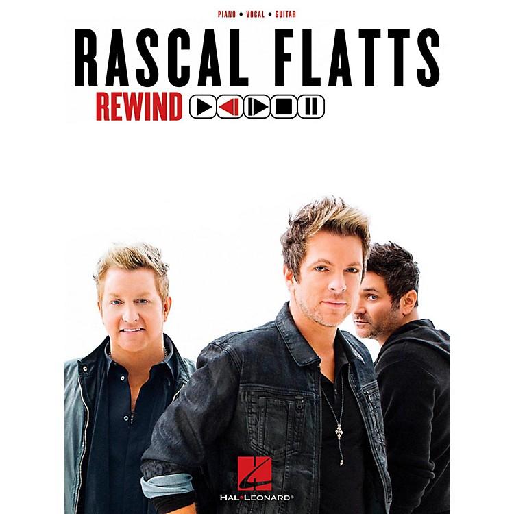 Hal LeonardRascal Flatts - Rewind Piano/Vocal/Guitar