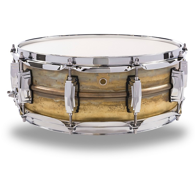 Ludwig Raw Brass Snare Drum 14 x 5 in.