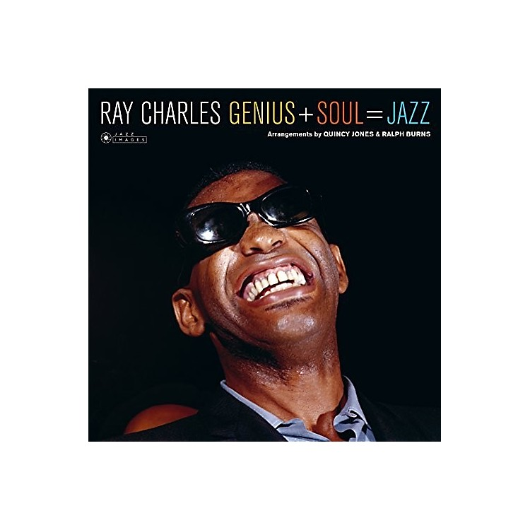 Alliance Ray Charles - Genius + Soul = Jazz + 1 Bonus Track (Cover Photo By Jean-PierreLeloir)