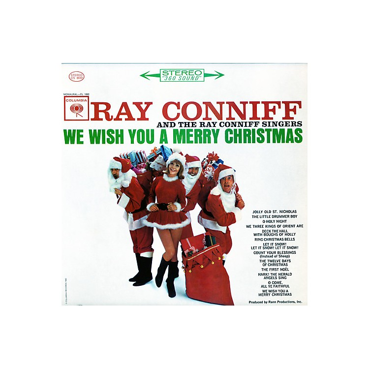 Alliance Ray Conniff Singers - We Wish You a Merry Christmas  (White)