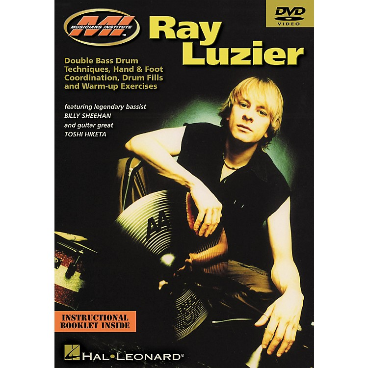 Musicians Institute Ray Luzier - Double Bass Drum Techniques, Hand and Foot Coordination, Drum Fills and Warm Up Exercises (DVD)