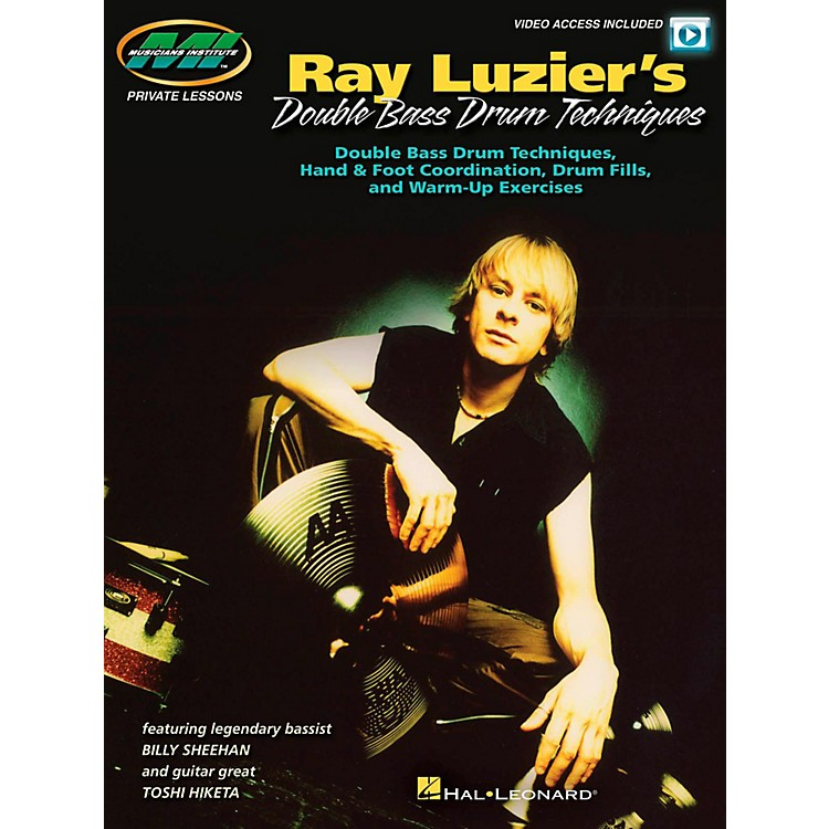 Hal LeonardRay Luzier's Double Bass Drum Techniques - (Book/Video Online)