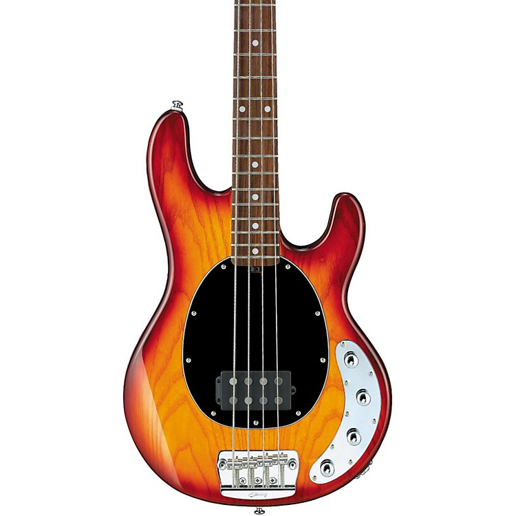 Sterling by Music ManRay34 Electric Bass GuitarHoney Burst