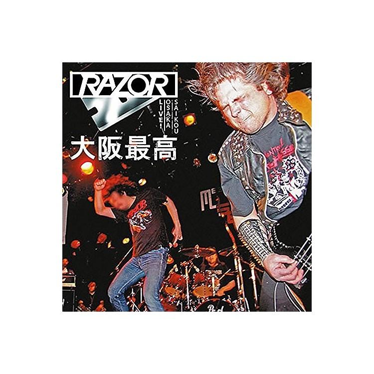 AllianceRazor - Osaka Saikou: Live In Japan (Blood Red Vinyl)