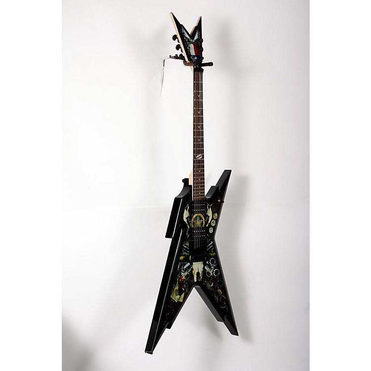 DeanRazorback Dimebag Lone Star Electric GuitarCustom Graphic888365894942