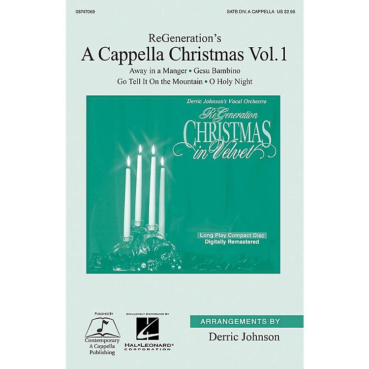 Hal LeonardReGeneration's A Cappella Christmas Vol 1 SATB A Cappella by ReGeneration arranged by Derric Johnson