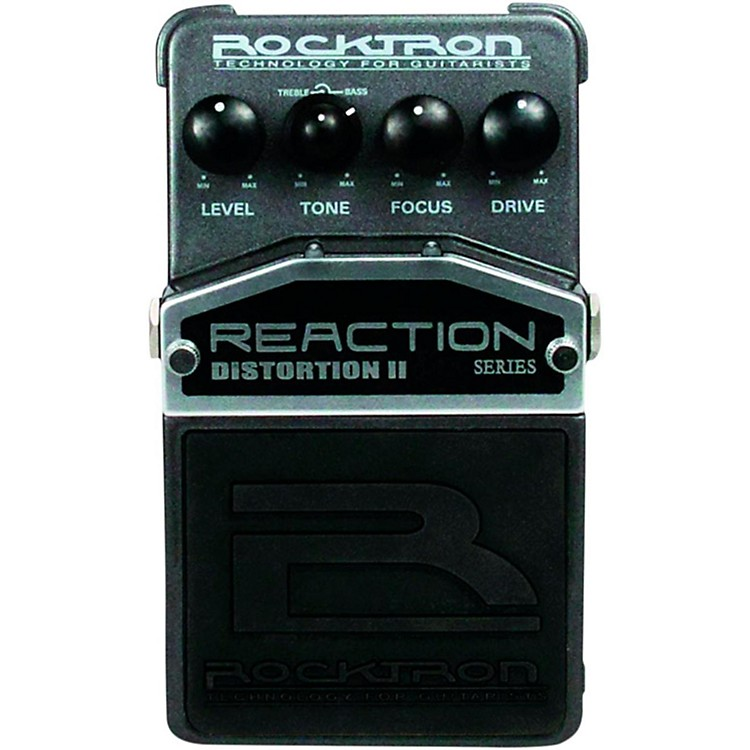 Rocktron Reaction Distortion 2 Guitar Effects Pedal  888365342474