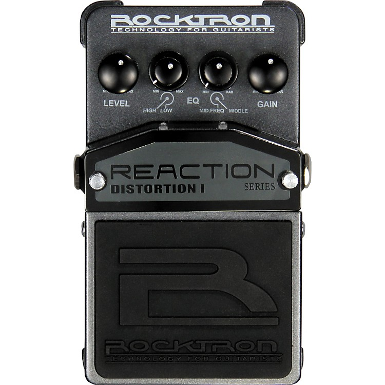 Rocktron Reaction Distortion I Guitar Effects Pedal