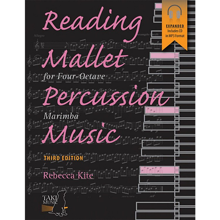 Alfred Reading Mallet Percussion Music For Four-Octave Marimba (Third Edition) Book & CD