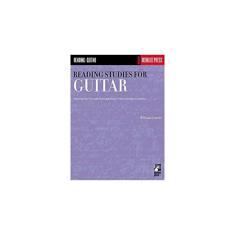 Hal LeonardReading Studies for Guitar Book