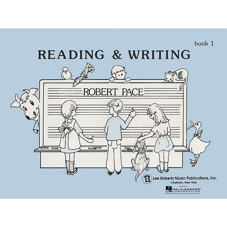 Lee RobertsReading & Writing - Book 1 Pace Piano Education Series Softcover Written by Robert Pace