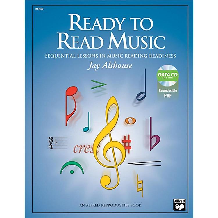 AlfredReady to Read Music Book & Data CD