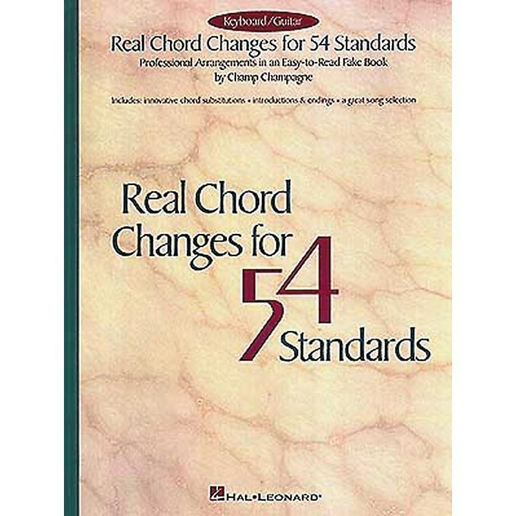 Hal LeonardReal Chord Changes for 54 Standards Fake Book