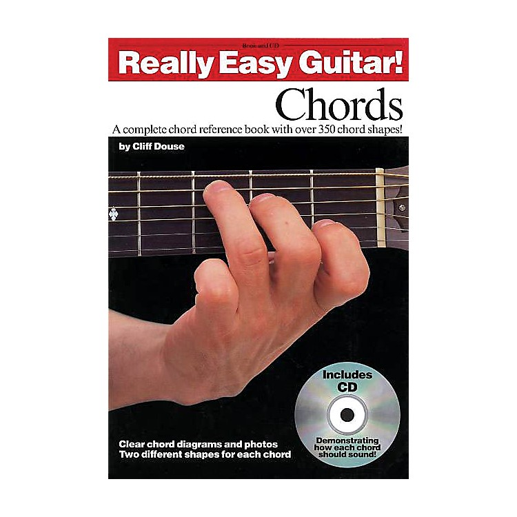 Music Sales Really Easy Guitar! - Chords Music Sales America Series Softcover with CD Written by Cliff Douse