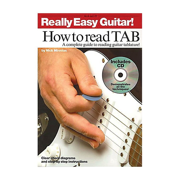 Music SalesReally Easy Guitar! - How to Read TAB Music Sales America Series Written by Nick Minnion