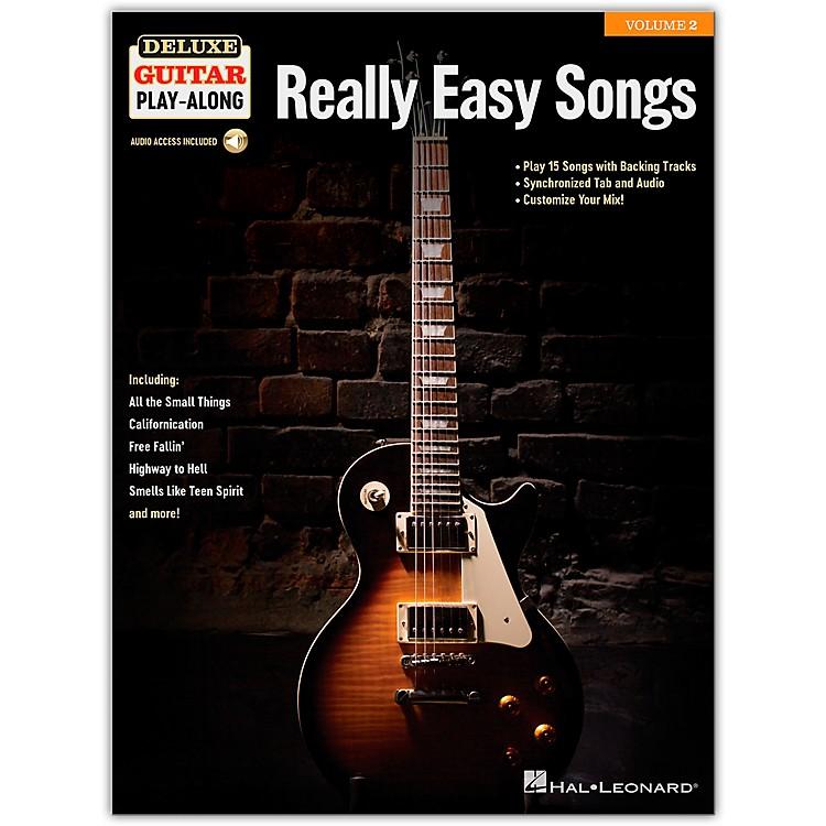 Hal LeonardReally Easy Songs Deluxe Guitar Play-Along Volume 2 Book/Audio Online