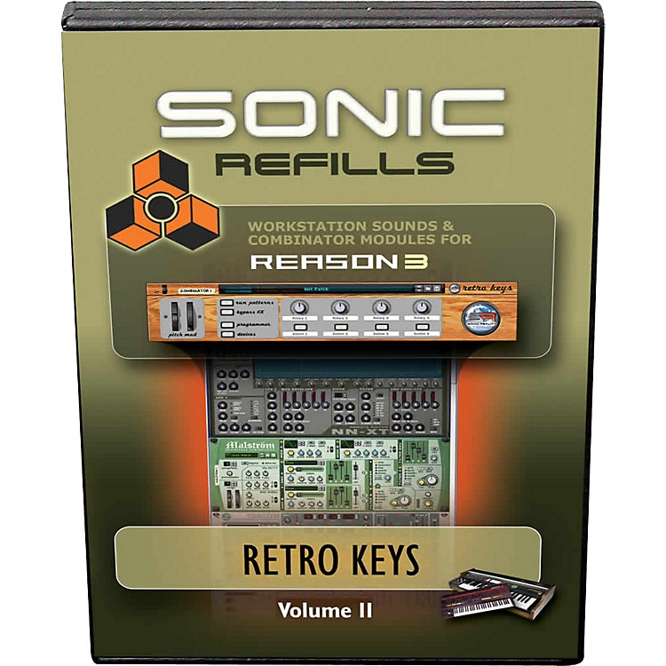 Sonic RealityReason 3 Refills Vol. 11: Retro Keys