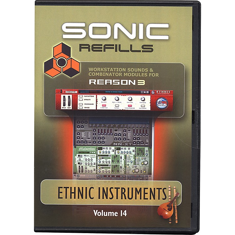 Sonic Reality Reason 3 Refills Vol. 14: Ethnic Instruments