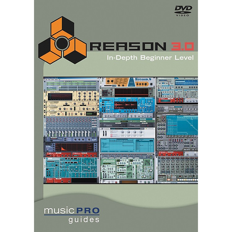 Hal LeonardReason 3.0 In-Depth Beginner Level DVD