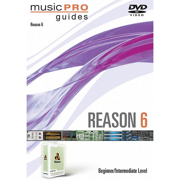 Hal LeonardReason 6 Beginner/Intermediate Music Pro Guides DVD