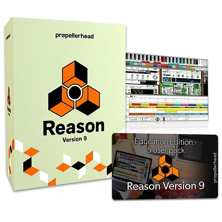 PropellerheadReason 9 EDU Multi-License Pack (5 Users)