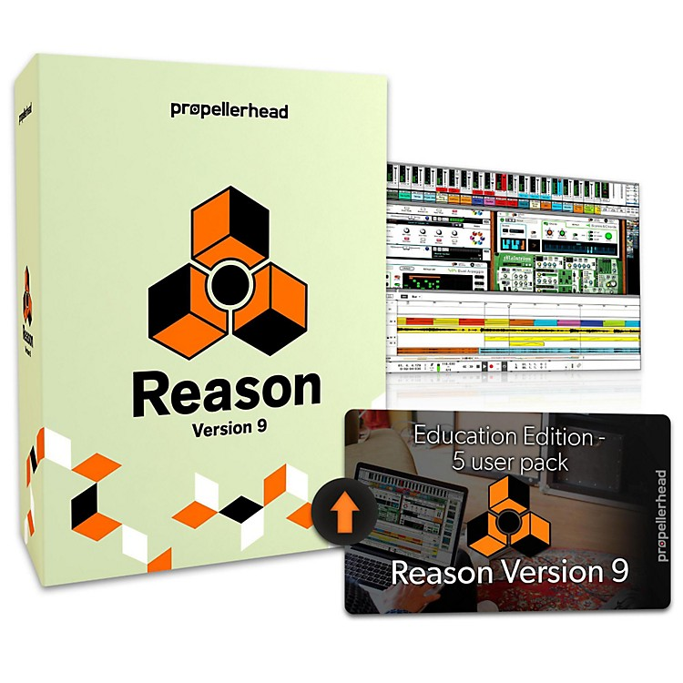 Propellerhead Reason 9 EDU Multi-License Upgrade (5 Users)