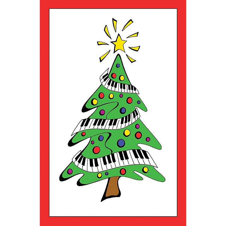 SCHAUMRecital Program #38 - Keyboard Christmas Tree Educational Piano Series Softcover
