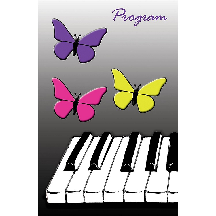 SCHAUMRecital Program #76 - Butterfly Keyboard (Package of 25) Educational Piano Series Softcover