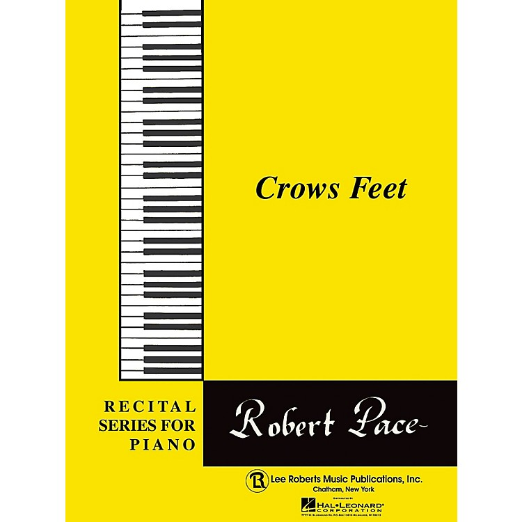 Lee RobertsRecital Series For Piano, Yellow (Book II) Crows Feet Pace Piano Education Series