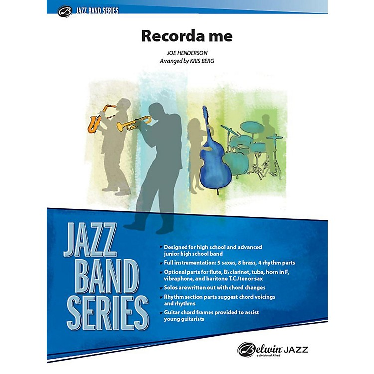 Alfred Recorda Me Jazz Band Grade 3.5 Set