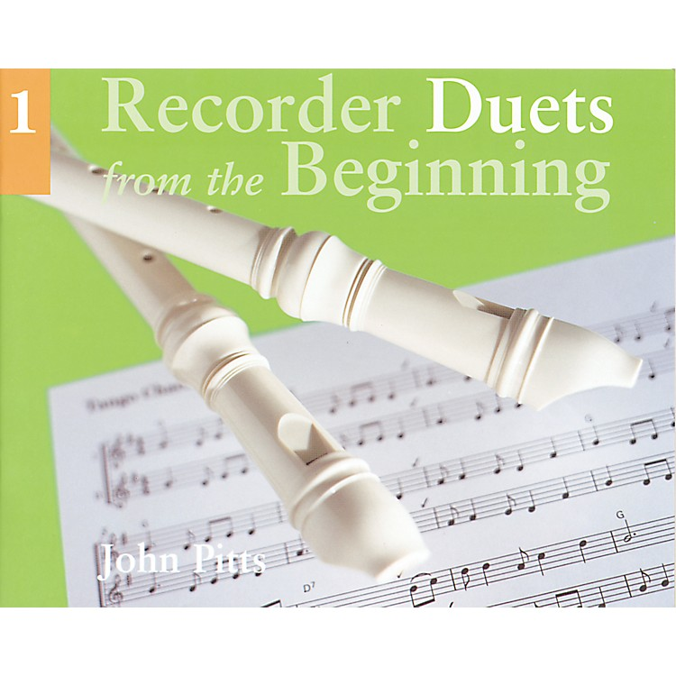Music Sales Recorder Duets From the Beginning Book 1