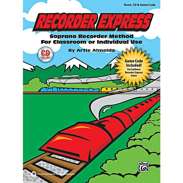 AlfredRecorder Express Book, CD & Game Code