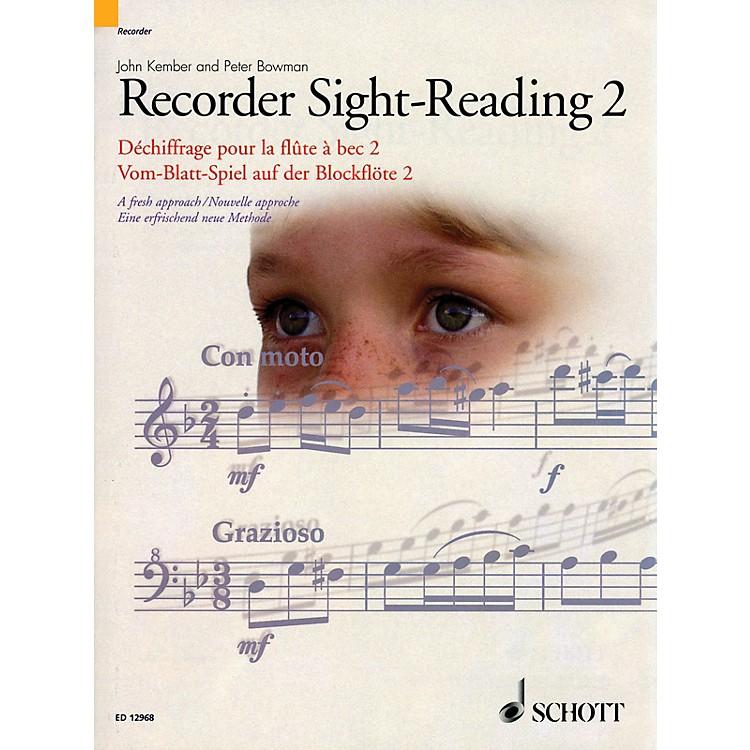 SchottRecorder Sight-Reading 2 Misc Series Written by John Kember