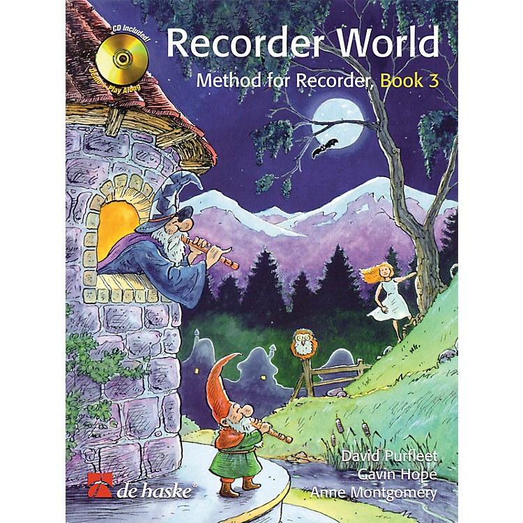 De Haske MusicRecorder World - Book 3 (Method for Recorder) De Haske Play-Along Book Series Written by David Purfleet