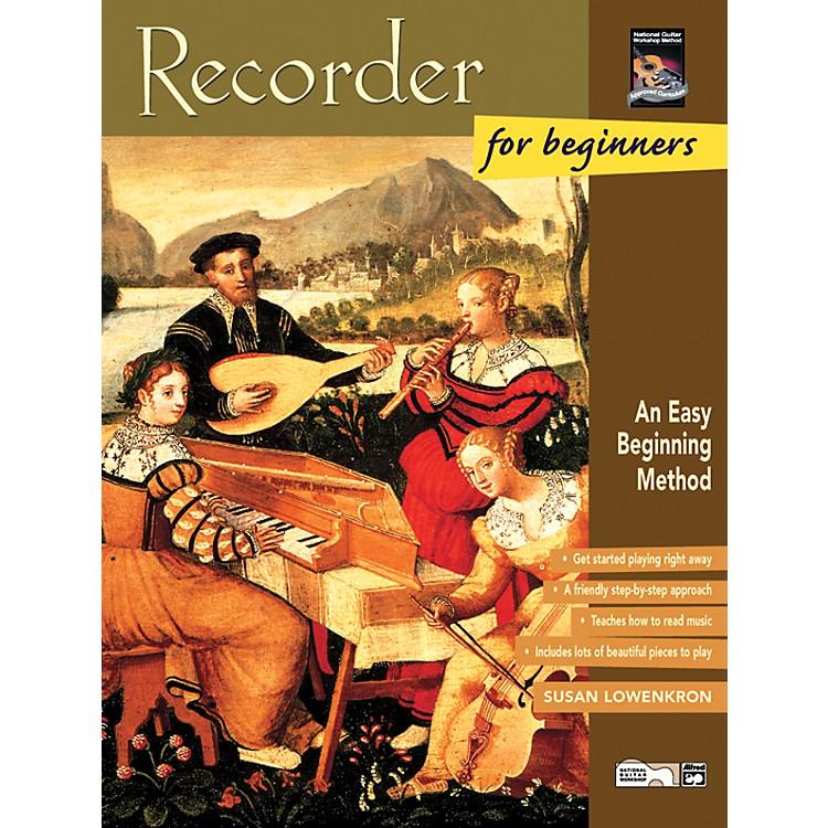 AlfredRecorder for Beginners Book/CD