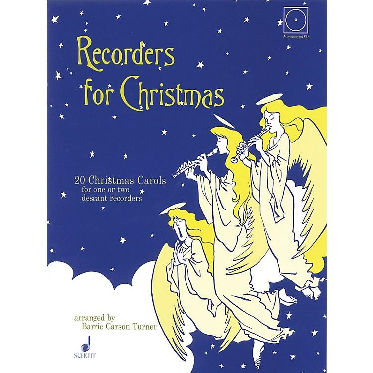 SchottRecorders for Christmas (20 Christmas Carols) Schott Series