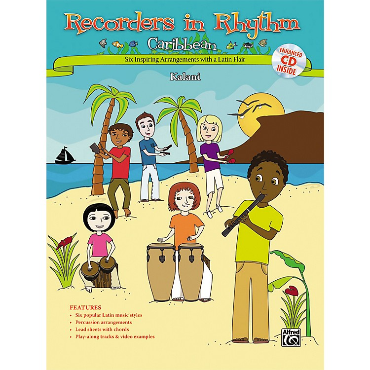 Alfred Recorders in Rhythm: Caribbean (Book/CD)