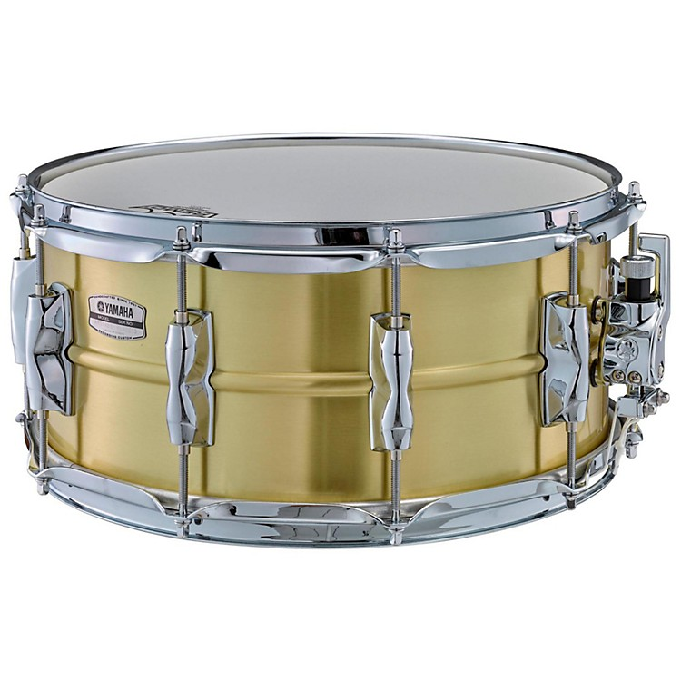 Yamaha Recording Custom Brass Snare Drum 14 x 6.5 in.