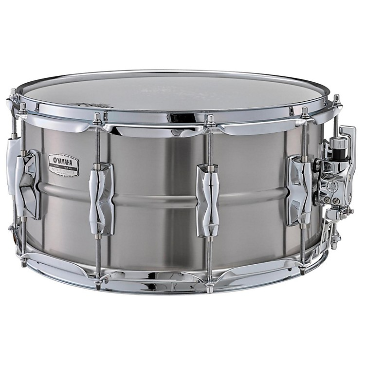 Yamaha Recording Custom Stainless Steel Snare Drum 14 x 7 in.
