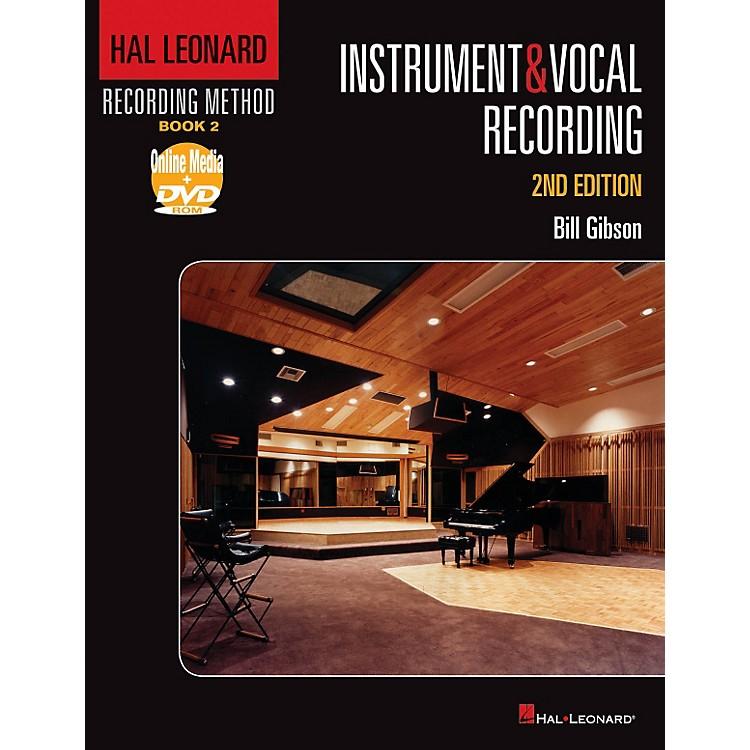Hal LeonardRecording Method - Instruments & Vocal Recording 2nd Edition