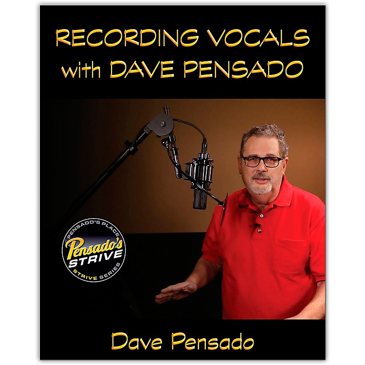 Hal Leonard Recording Vocals with Dave Pensado Book/Media Online
