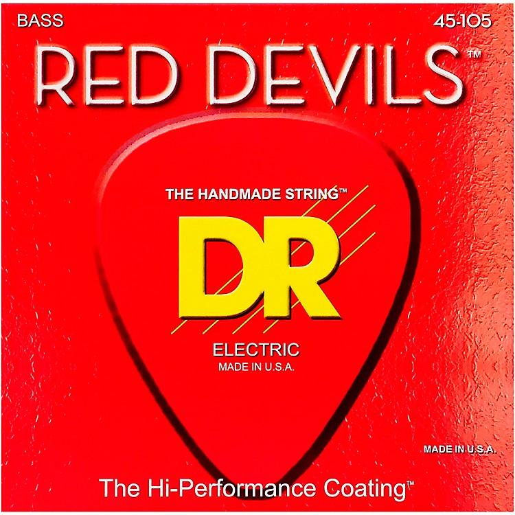 DR StringsRed Devils Medium 4-String Bass Strings