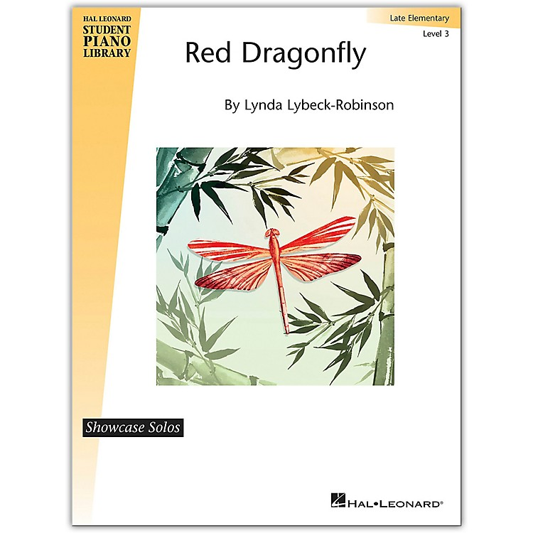 Hal Leonard Red Dragonfly - Hal Leonard Student Piano Library Showcase Solo Level 3/Late Elementary