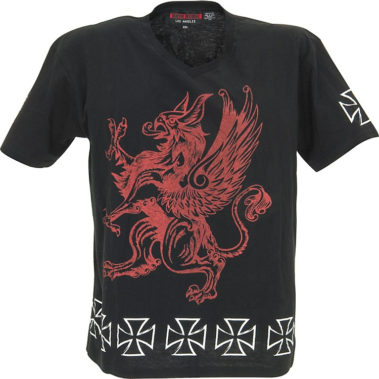 Rock House Los AngelesRed Griffin T-Shirt