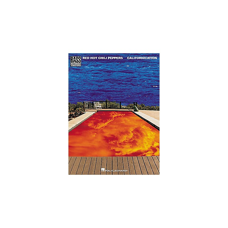 Hal LeonardRed Hot Chili Peppers - Californication Book